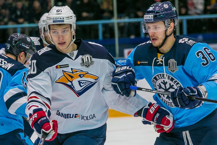 Игры хоккейной Сибири в августе 2018